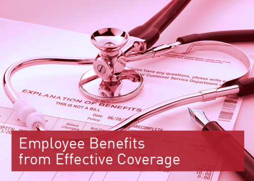 Employee Benefits from Effective Coverage